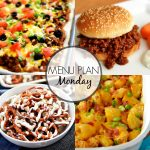Menu Plan Monday #312