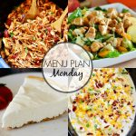 Menu Plan Monday #318