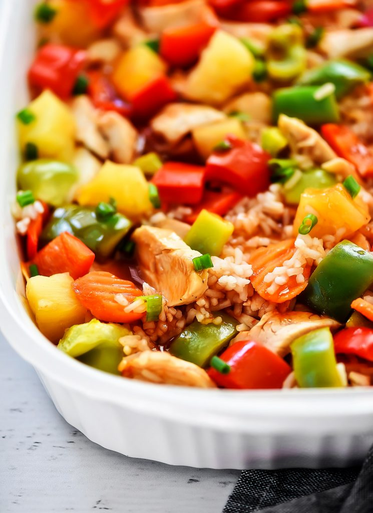 Sweet and Sour Chicken Casserole