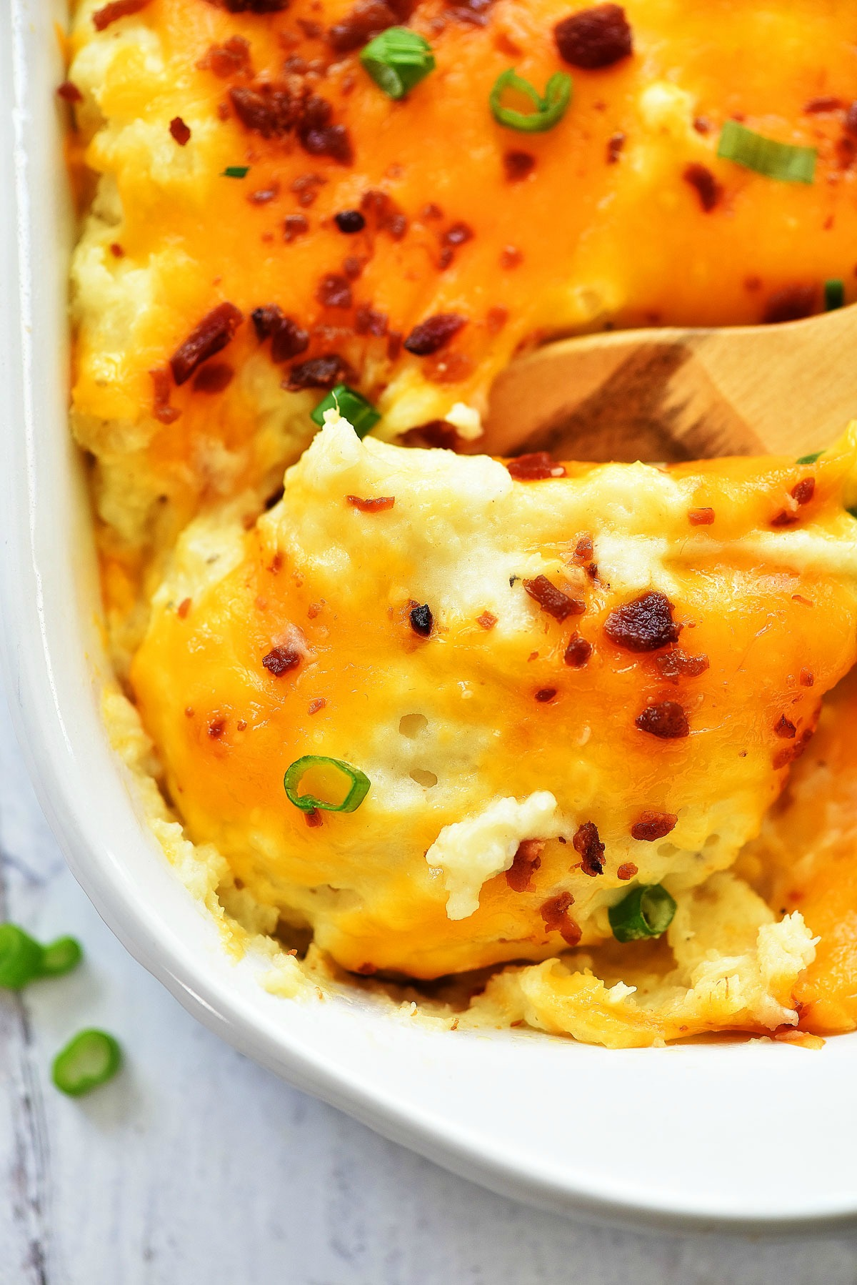 Twice Baked Potato Casserole Life In The Lofthouse