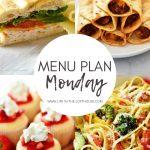 Menu Plan Monday #337