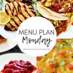 Menu Plan Monday #341