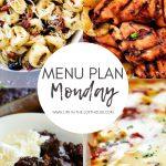 Menu Plan Monday #345