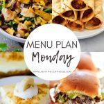 Menu Plan Monday #351