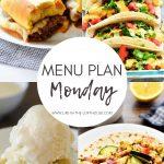Menu Plan Monday #352