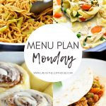 Menu Plan Monday #353