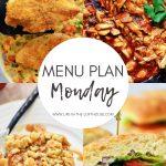Menu Plan Monday #360