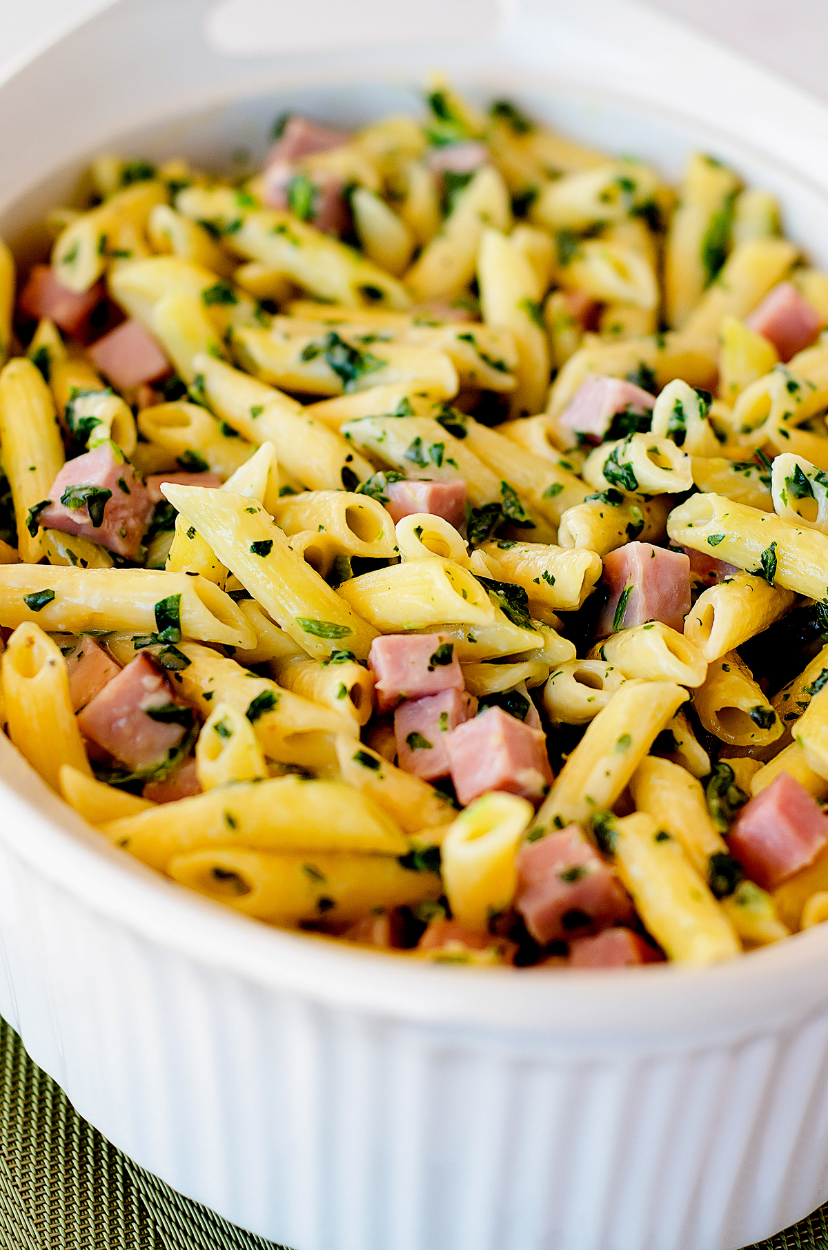 Ham and Cheese Penne