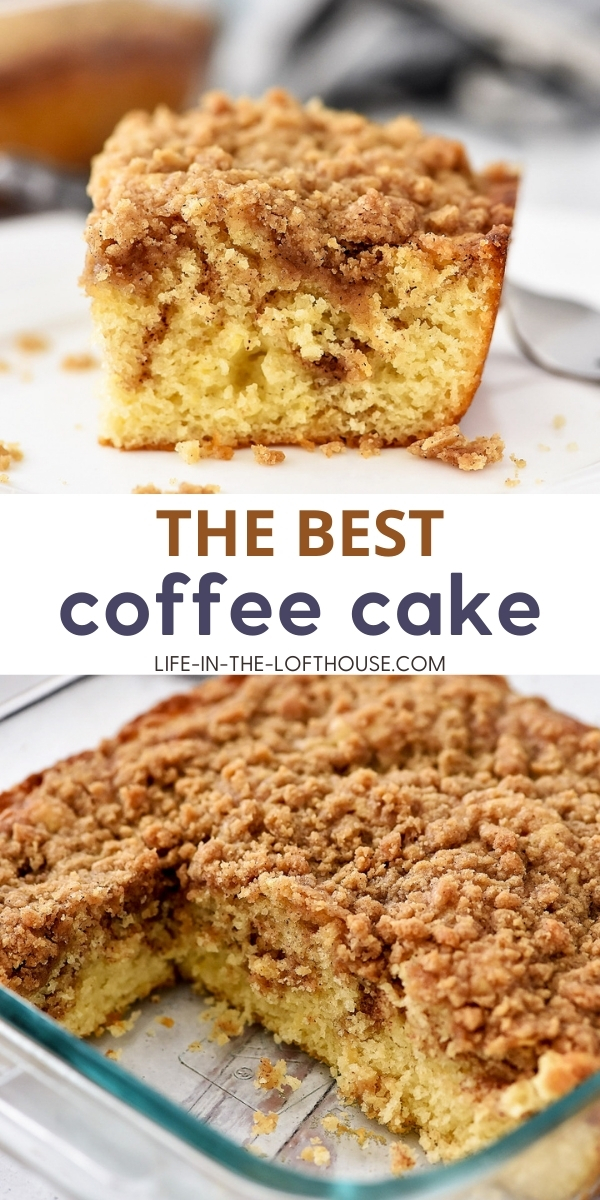 Coffee Cake is a buttery, cinnamon-sugar cake. Life-in-the-Lofthouse.com