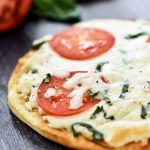 Margherita Flatbread Pizza