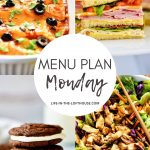 Menu Plan Monday #366
