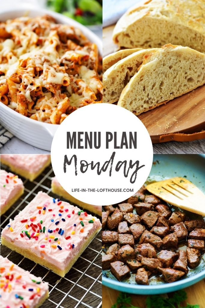 Menu Plan Monday is a list of delicious recipes. Life-in-the-Lofthouse.com
