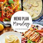 Menu Plan Monday #373