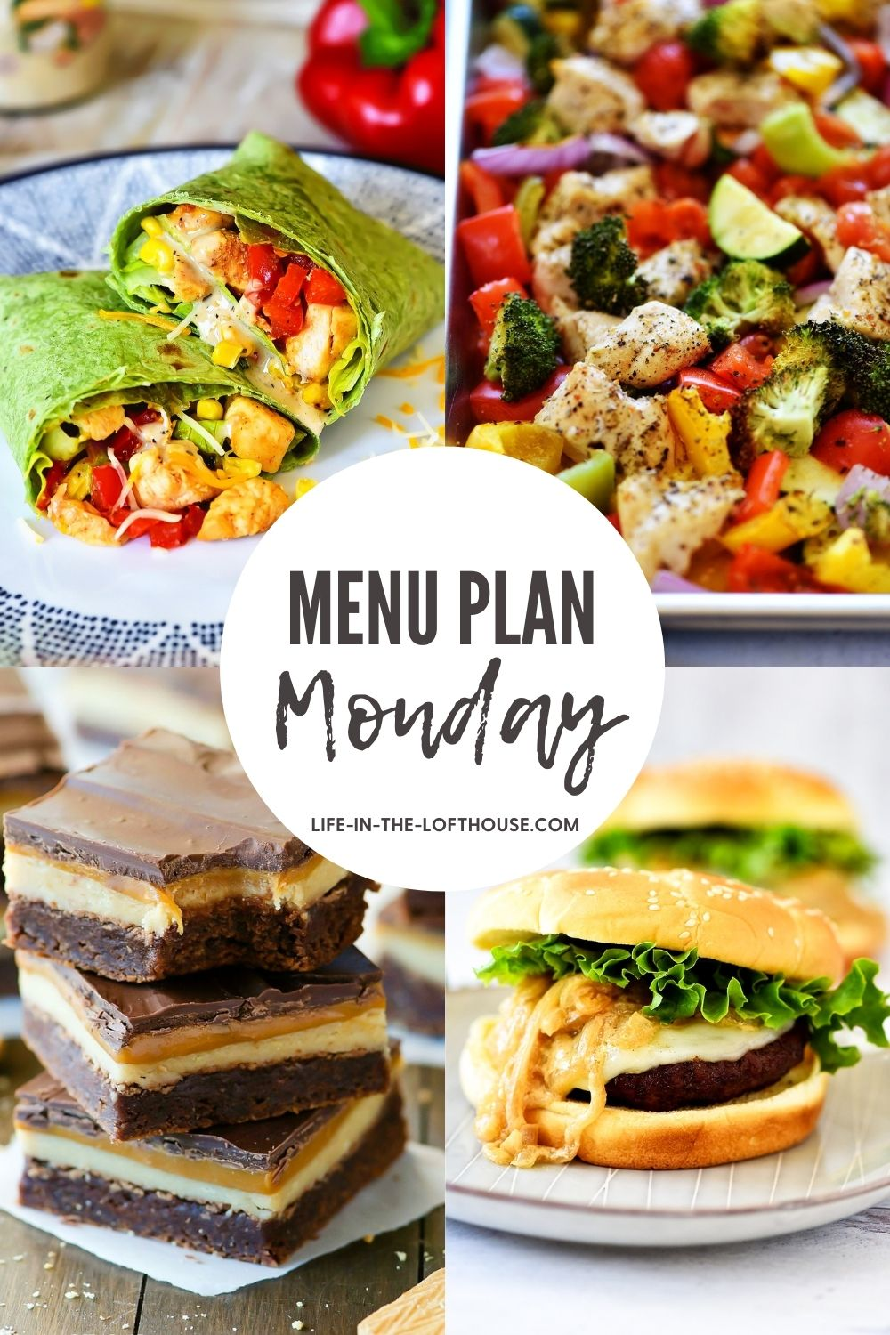 Menu Plan Monday is a dinner menu filled with delicious recipes. Each menu includes six dinners and one dessert idea!