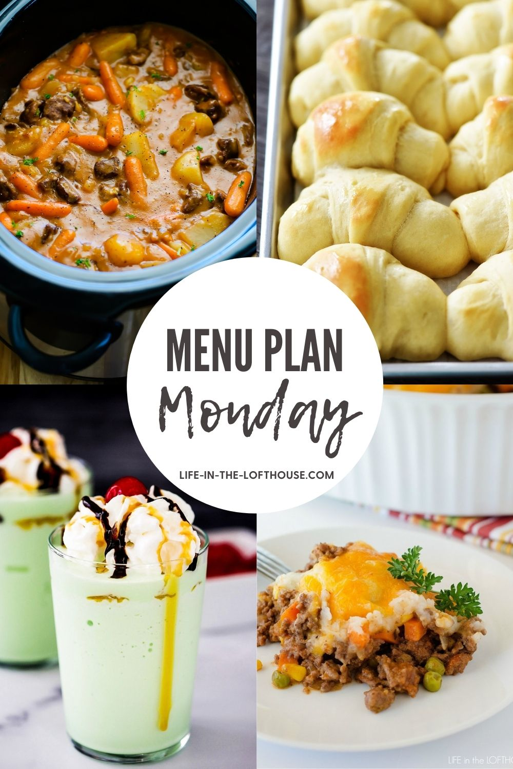 Menu Plan Monday is a menu plan filled with family-favorite recipes. Each week includes six dinners and one dessert idea!