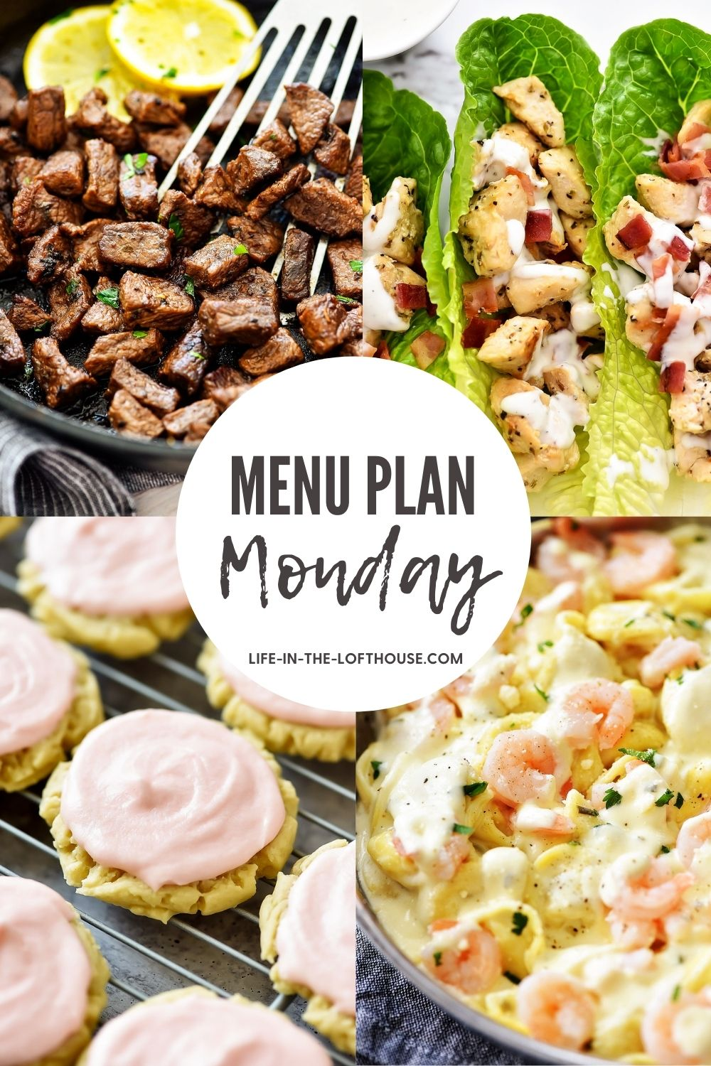 Menu Plan Monday is an easy guide to help you decide what to make for dinner. Each menu has six delicious dinner ideas and one dessert!