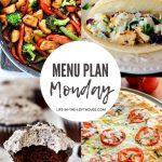 Menu Plan Monday #381