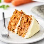 A delicious, moist cake filled with shredded carrots and coconut and topped off with a creamy Almond-Scented Cream Cheese Frosting. Life-in-the-Lofthouse.com