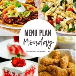 Menu Plan Monday #378