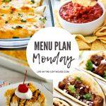 Menu Plan Monday #382