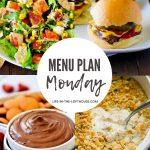 Menu Plan Monday #383
