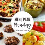 Menu Plan Monday #386