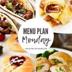 Menu Plan Monday #387