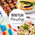 Menu Plan Monday #390