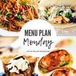 Menu Plan Monday #392