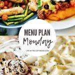 Menu Plan Monday #397