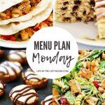 Menu Plan Monday #398