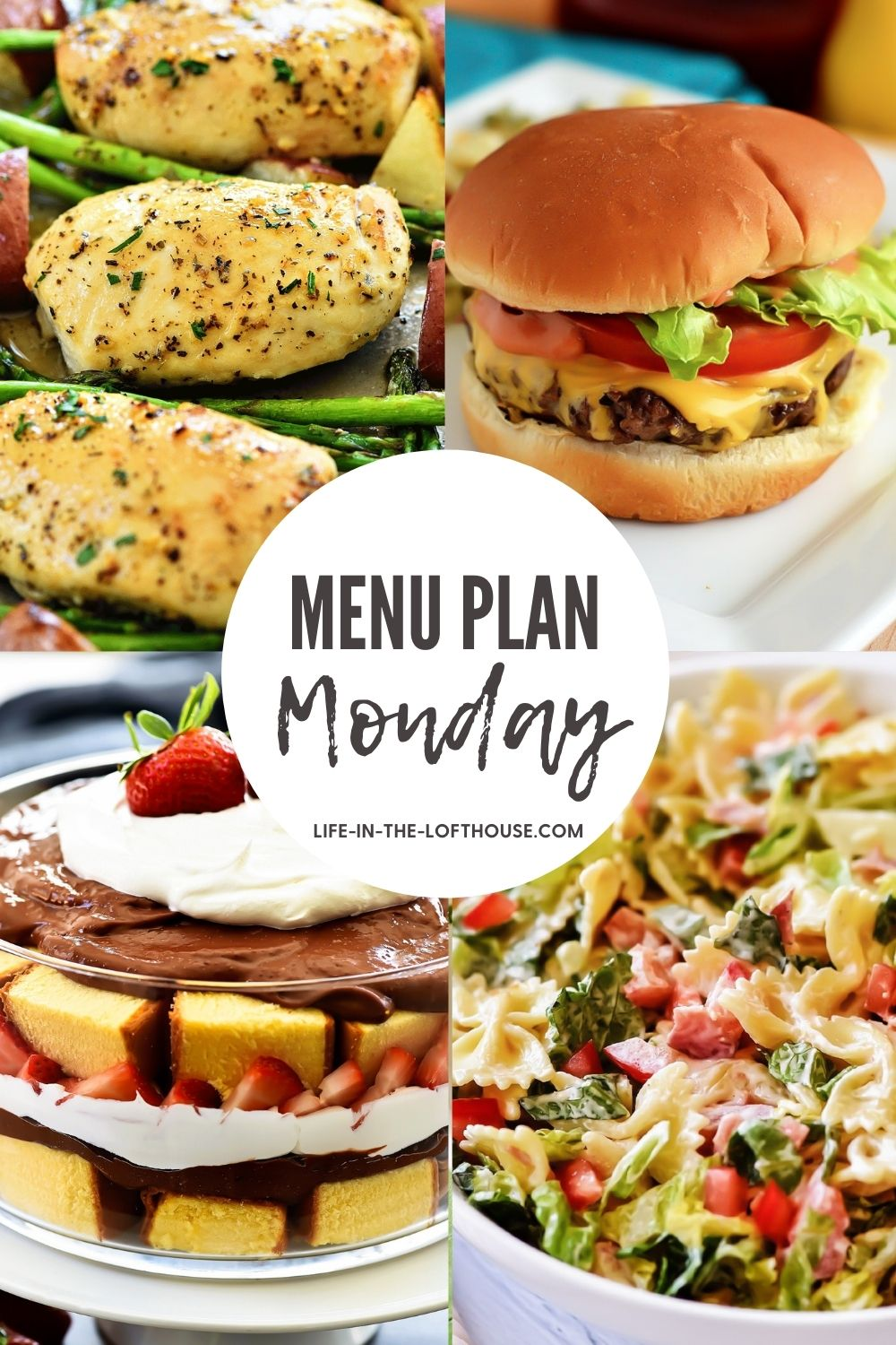Menu Plan Monday is an easy dinner menu filled with six dinner recipes and one dessert. Life-in-the-Lofthouse.com
