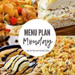 Menu Plan Monday #401