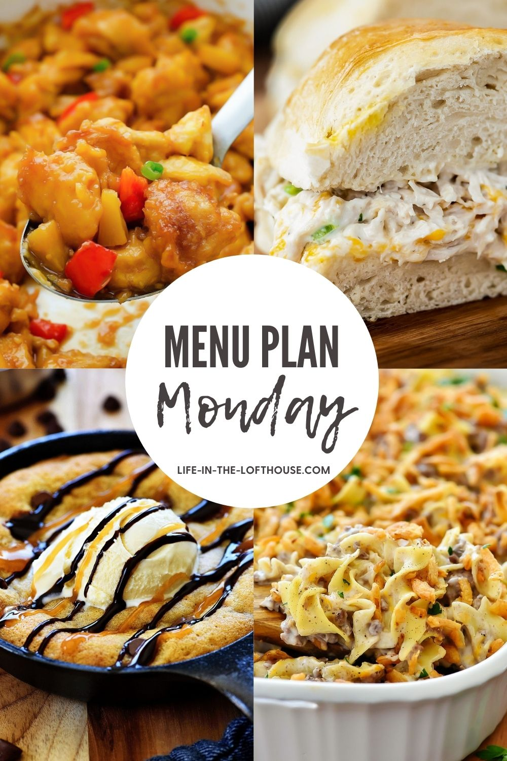 Menu Plan Monday is a collection of family favorite recipes from dinner to dessert.