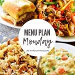 Menu Plan Monday #403