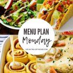 Menu Plan Monday #405
